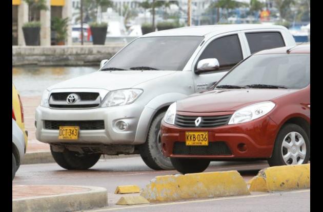 Pico y placa para carros particulares en Cartagena