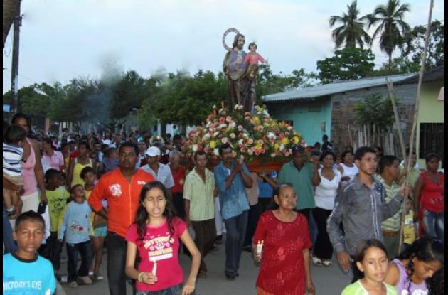 fiestas patronales de Pinillos, Bolívar.