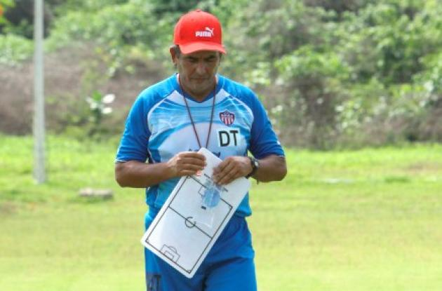 Jorge Luis Pinto, técnico de Junior de Barranquilla.