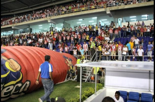 Pinto se despidió de Junior de Barranquilla.