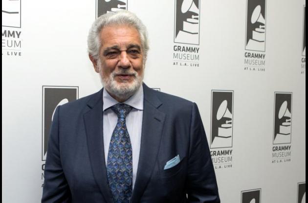 Plácido Domingo es homenajeado en el Museo del Grammy.