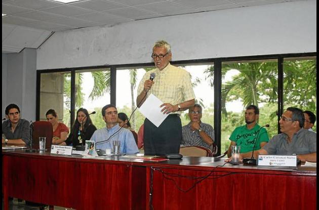 el Gobernador de Sucre expuso el Plan de Desarrollo.