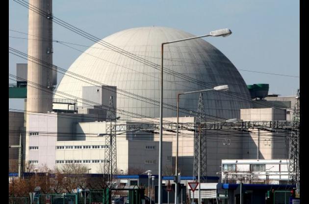 Planta nuclear en Alemania.