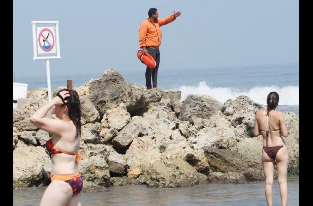 Seguridad en playas