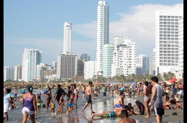 Playas en temporada alta.