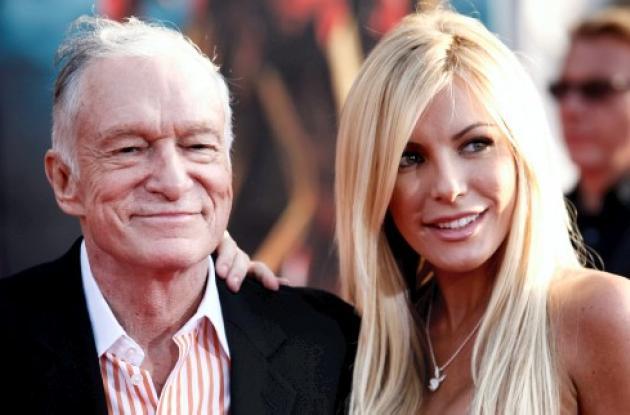 A Hugh Hefner, fundador de la revista Playboy, la novia le canceló la boda..