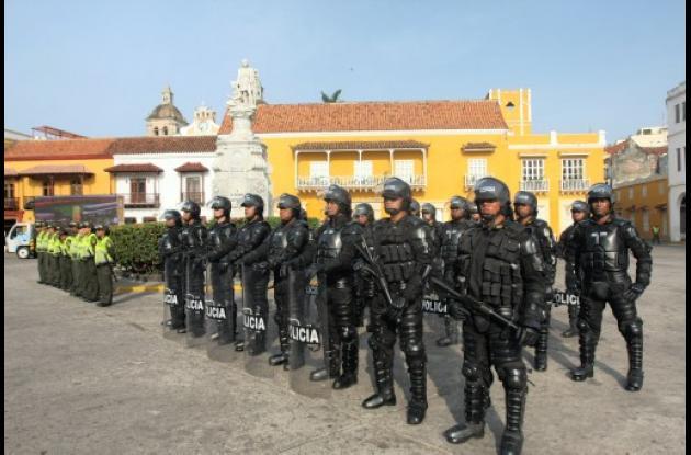 La Plaza de la Aduana es el epicentro de todo lo grande que ocurra en Cartagena.