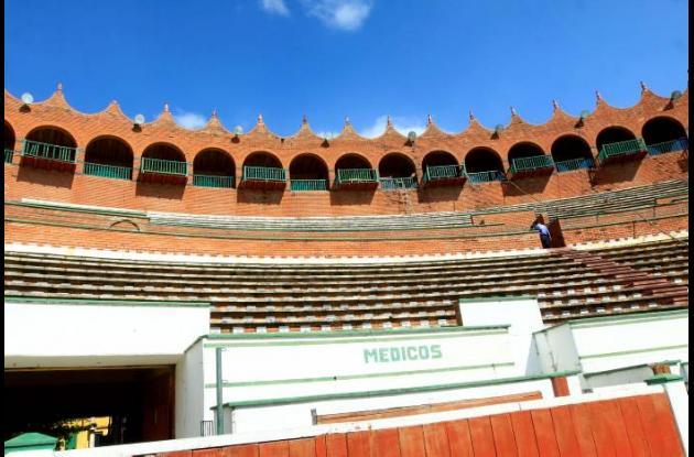 Deterioro de Plaza de Toros Cartagena de Indias