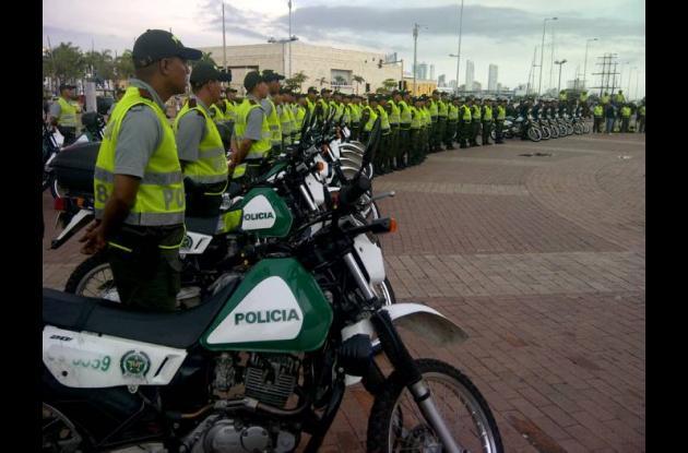 Más policías para Cartagena