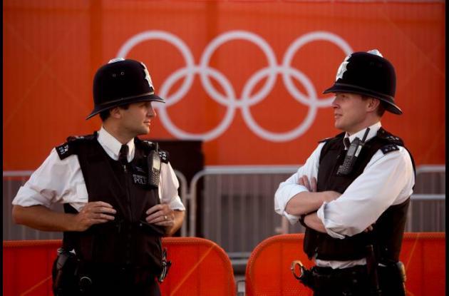 policias juegos olimpicos londres 2012