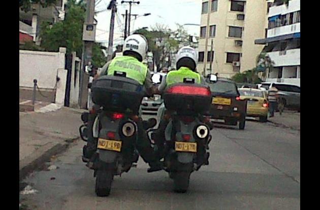 policias infractores de transito