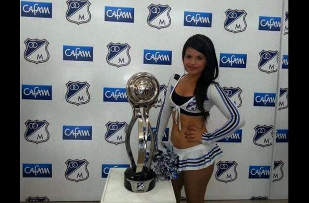 Luisa Fernanda Ovalle, porrista de Millonarios asesinada el pasado sábado.