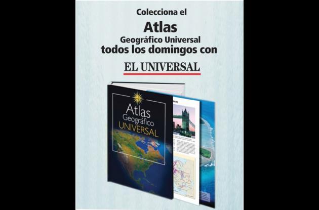 Portada de Atlas Geográfico Universal