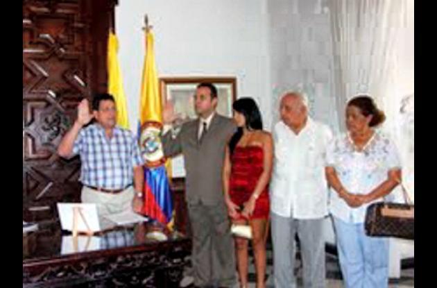 Posesión de nuevo magistrado Arturo Eduardo Matson Carballo