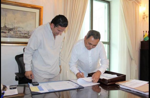 Se posesiona el magistrado Villalobos Álvarez