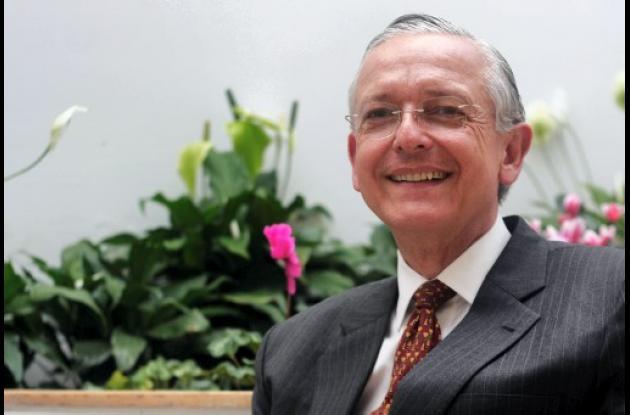 Augusto Solano Mejía, presidente de Asocolflores.