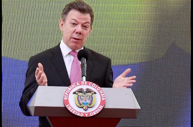 El presidente Juan Manuel Santos presentó la nueva central de inteligencia