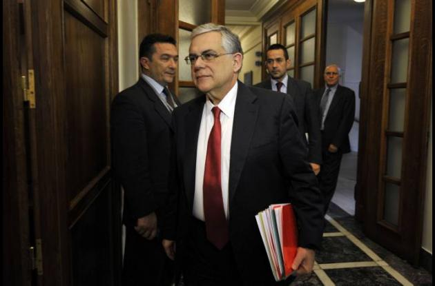 Lucas Papademos, primer ministro de Grecia.