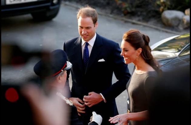 El principe Guilermo y la princesa Catalina