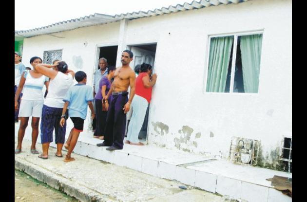 El hecho ocurrió en esta vivienda en la calle Tequendama, en el sector Central d