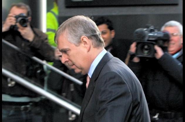 Príncipe Andrés de Inglaterra.