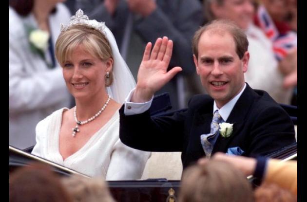 Príncipe Eduardo, conde de Wessex  y su esposa Sophie