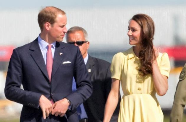Guillermo y Catalina en su primera visita oficial a Canadá.