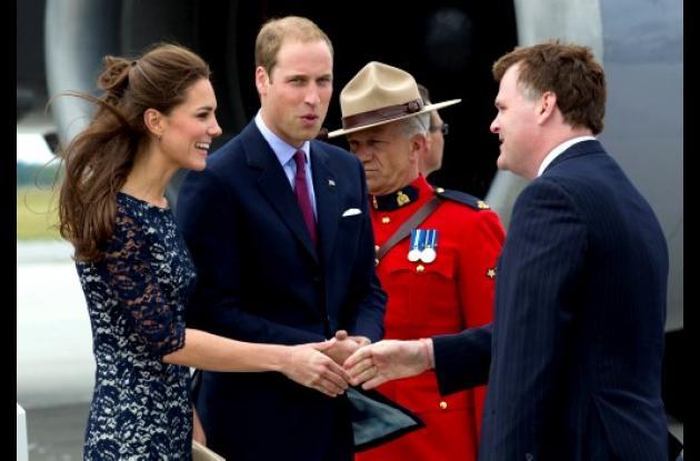 Príncipe Guillermo y Catalina en Canadá