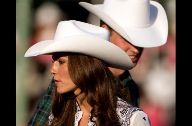 El sombrero en Calgary son equivalentes a las llave de la ciudad.