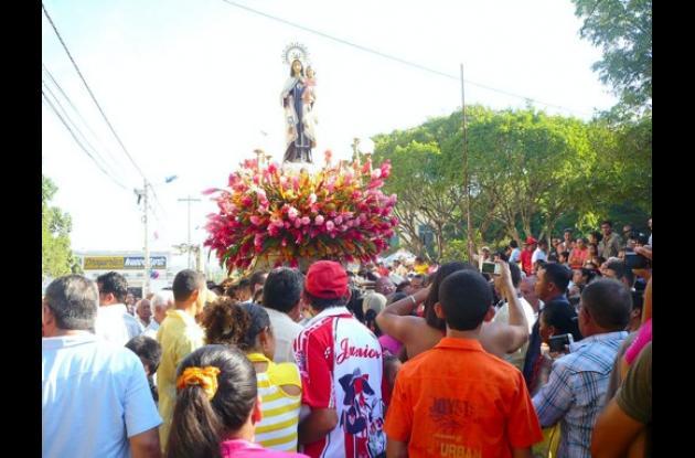 Fiestas patronales en honor a la Virgen del Carmen.
