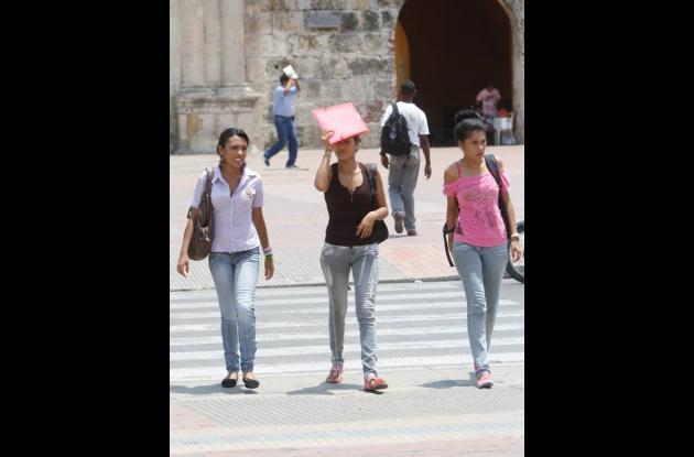 Cartagena sufre por el calor