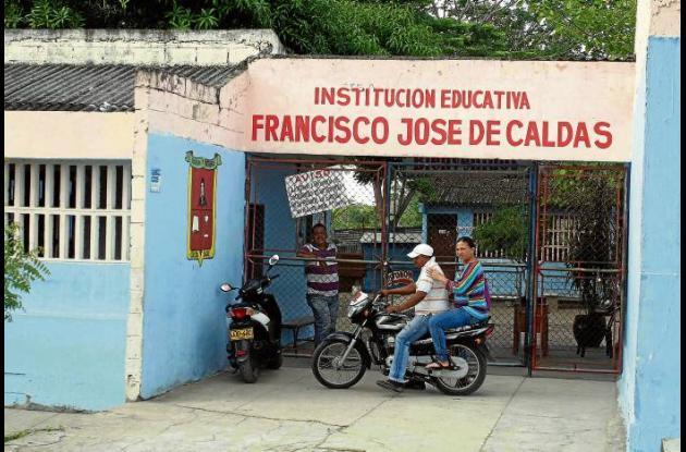protesta frente a Alcaldía de Corozal