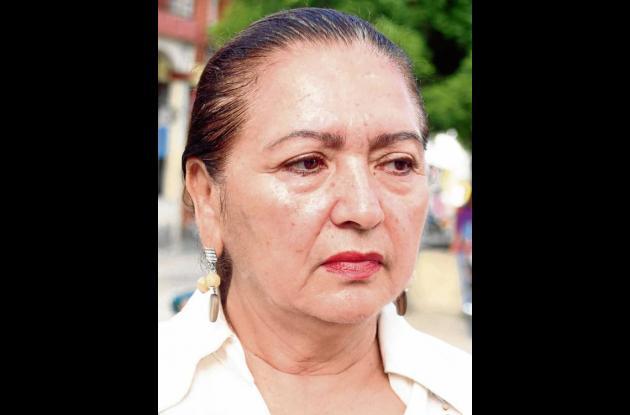 Judith Mogollón, rectora de la Institución Educativa Francisco José de Caldas.