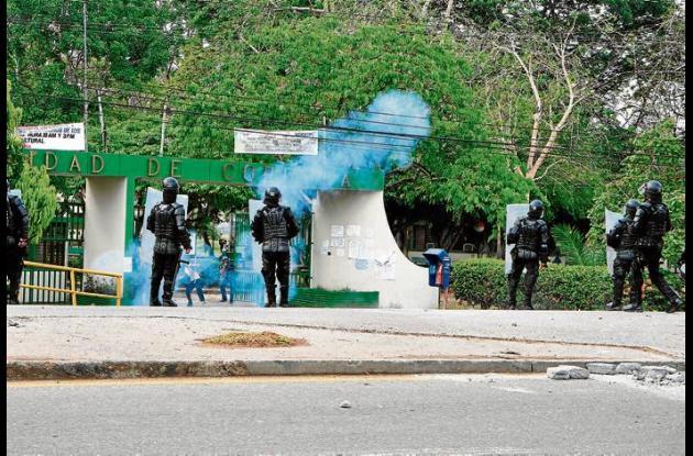 disturbios en protesta de Unicórdoba