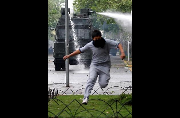 Protestas estudiantiles en Chile