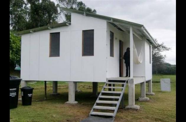 Prototipo de vivienda de interés social para los damnificados bolivarenses.