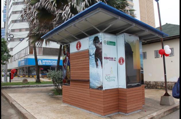 Puntos de información turística de Cartagena de Indias.