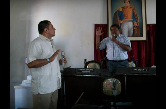 La queja es contra el presidente de Concejo de Turbaco, Rafael Pretelt Martínez,