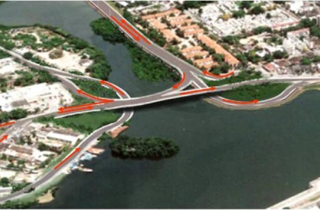 Puente Vehicular Las Palmas.