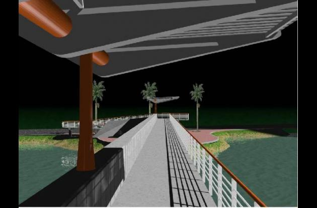 Puente Peatonal Jiménez.