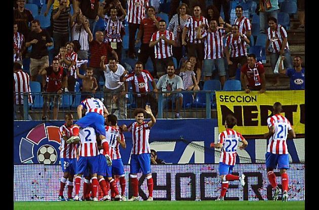Radamel Falcao García comenzó a hacer goles con su nuevo club.