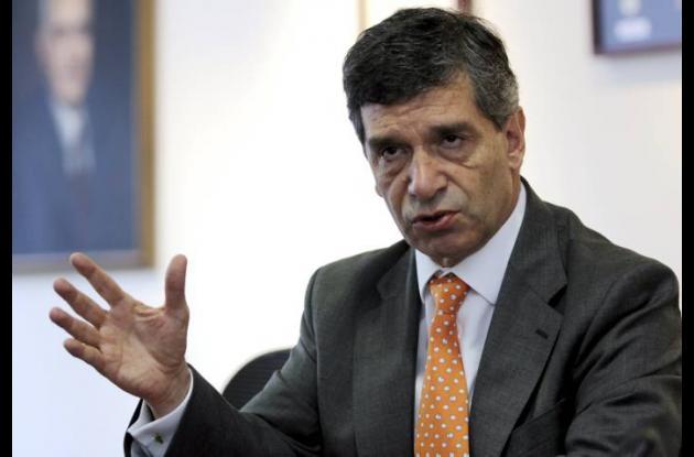 Rafael Pardo, ministro de Trabajo.