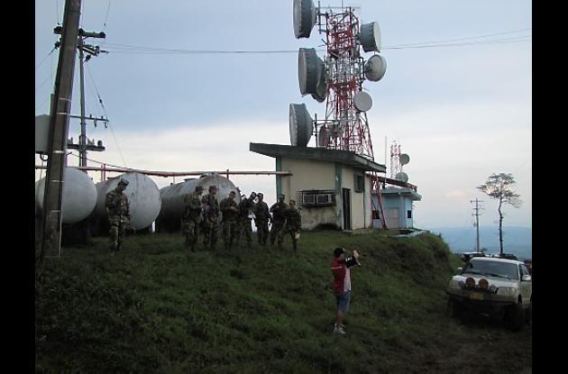La seguridad en el Cerro de Maco está a cargo de la Infantería de Marina