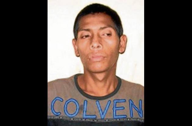 Rafael Antonio Hernández Martínez, capturado.