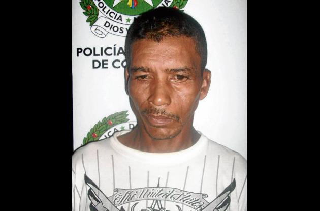 Mariano Morelo Sandón, capturado.