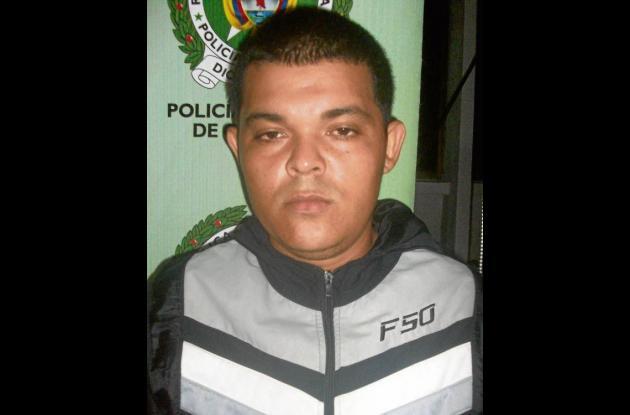 Luis Antonio Acosta, capturado.