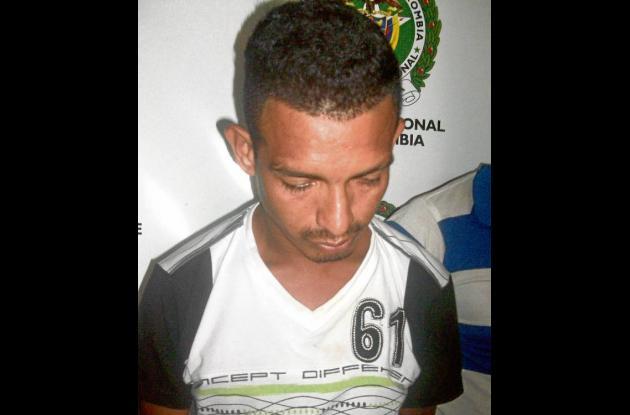 Jorge Santander Pereira, capturado.