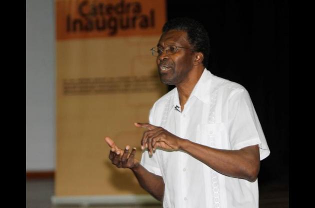 Raúl Cuero, científico colombiano.
