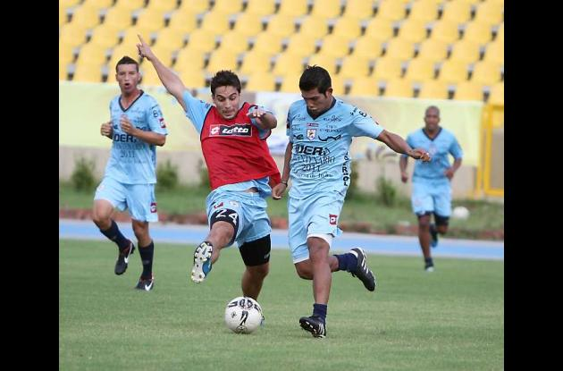 Real Cartagena entrenó a todo ritmo en el Jaime Morón.
