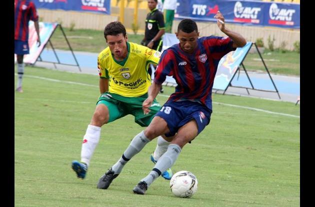 Real Cartagena en la Copa Postobón.